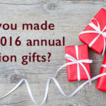 Annual exclusion gifts