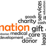 word cloud - donation